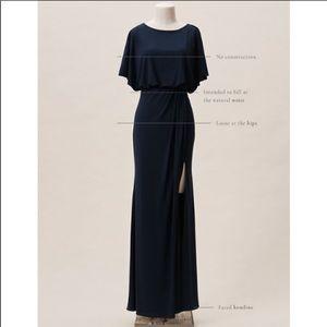 Navy BHLDN Lena Dress
